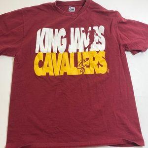 Lebron James Cleveland Cavaliers Size Large